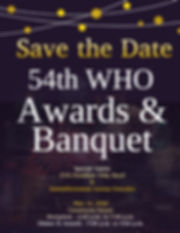 Copy of Copy of Awards Banquet Event Inv