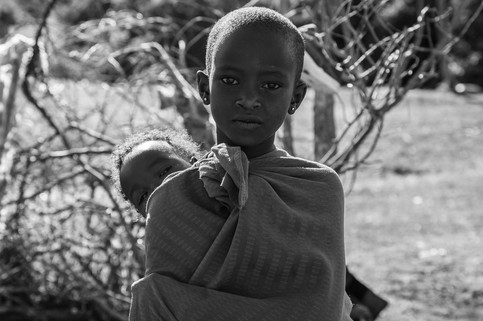 Young Maasai Girls
