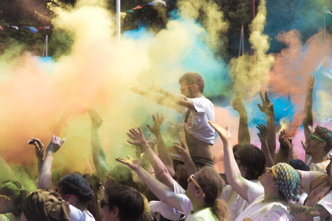 Colour Run Festivities