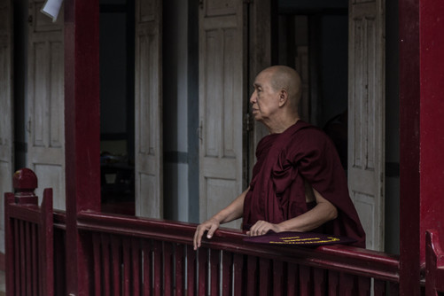 Amarapura Monastery, Burma