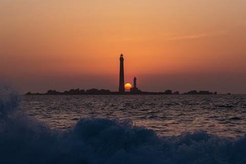 Sunset on the Virgin Island Lighthouse