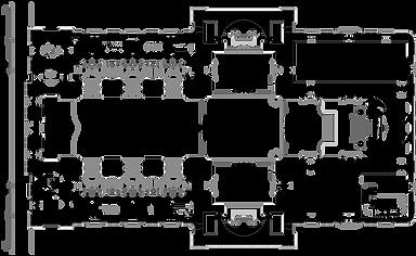 Planta baixa da Igreja da Candelária