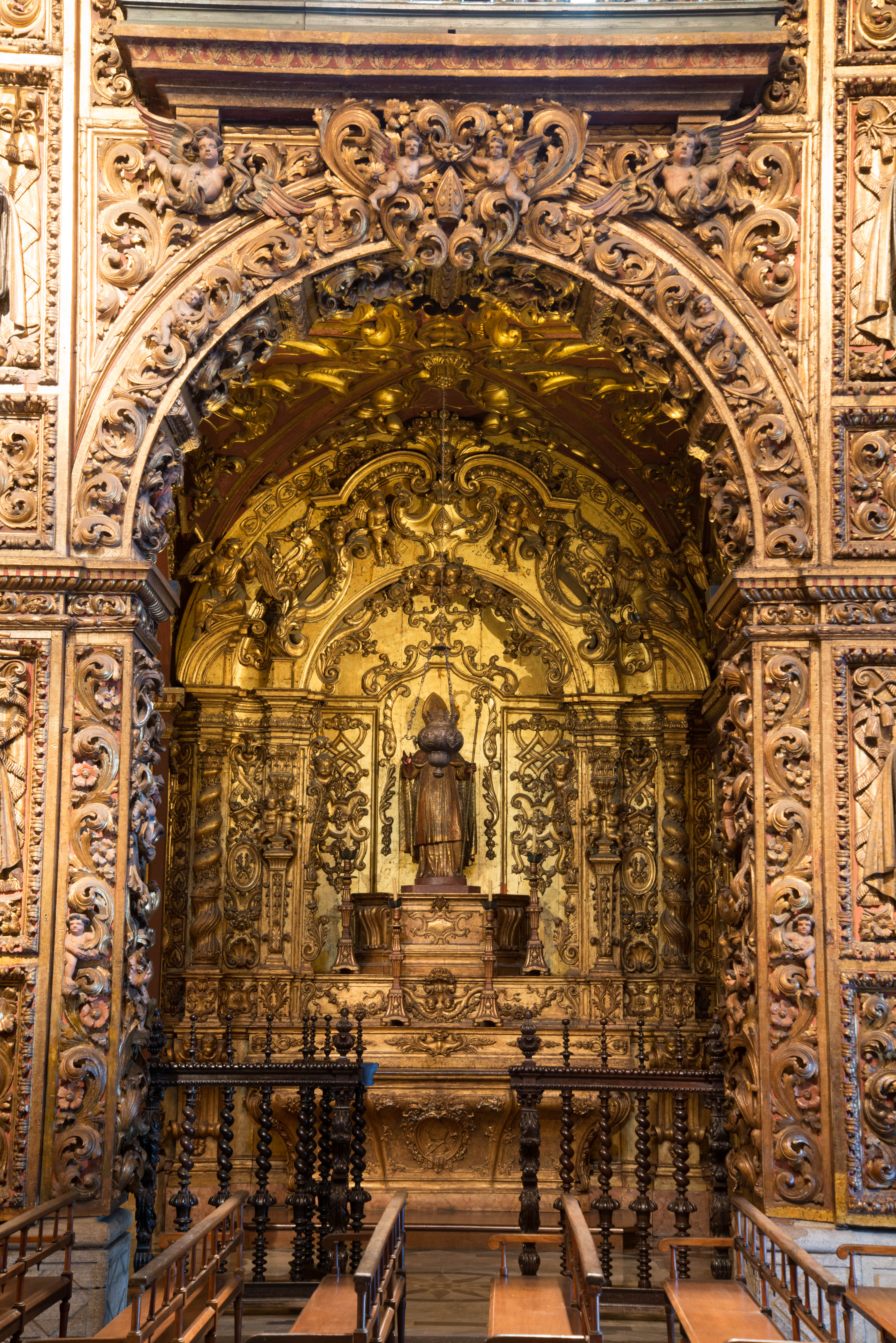 Detalhe de um dos altares