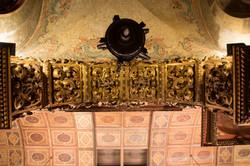 Detalhe interno do arco