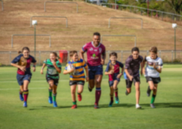 Queensland Reds Welcoming junior club pl