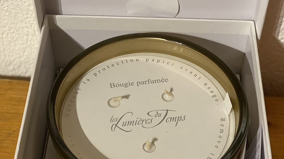 BOUGIE 660 GR POUDRE D'OR