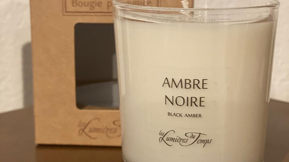 BOUGIE 180GR AMBRE NOIRE