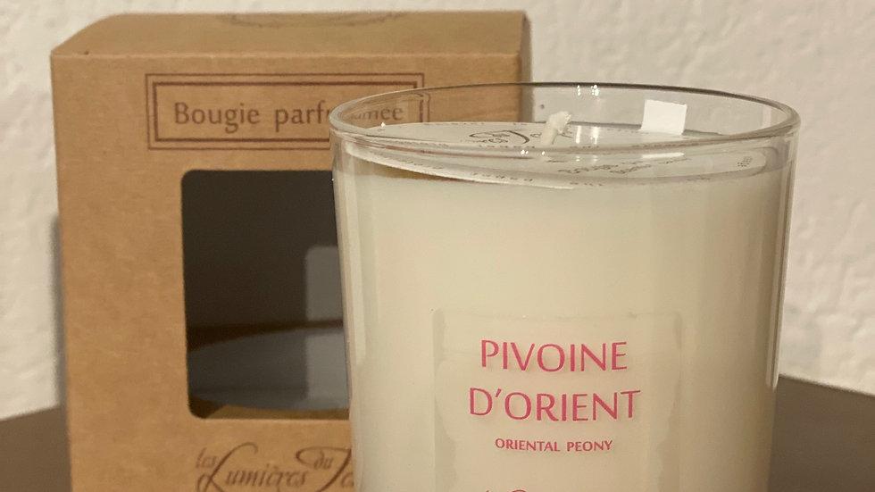 BOUGIE 180GR PIVOINE D'ORIENT