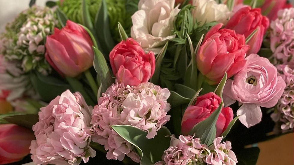Bouquet printemps xl