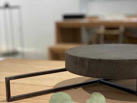 羽生野亜 wood+steel作品