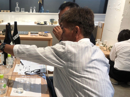 Manabuふわり酔う 日本酒利き酒