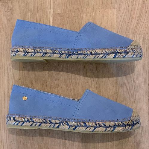 0215 Blauwe espadrille Fred de la Bretoniere