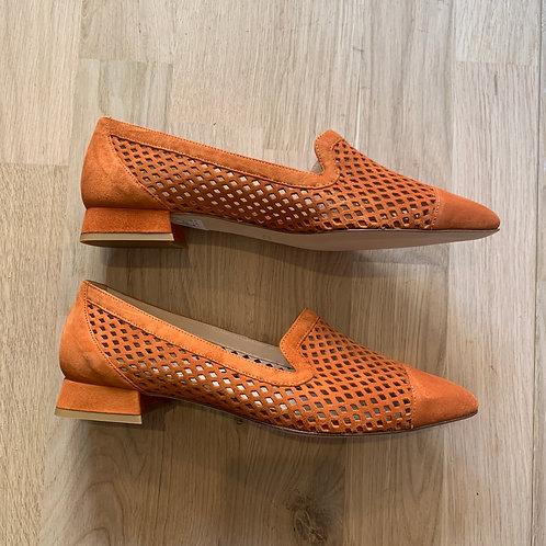 0810 Roestbruine loafer Lilian