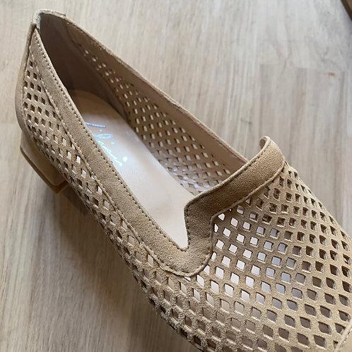 0809 Zandkleurige loafer Lilian