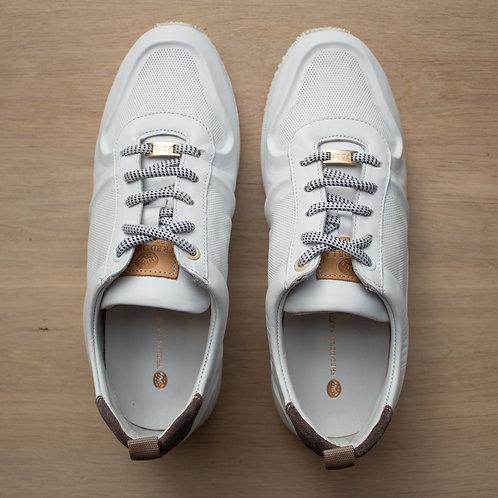 0212 Witte sneaker Fred de la Bretoniére
