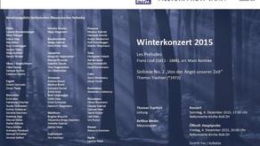 Winterkonzert Sinfonisches Blasorchester Helvetia Rüti-Tann