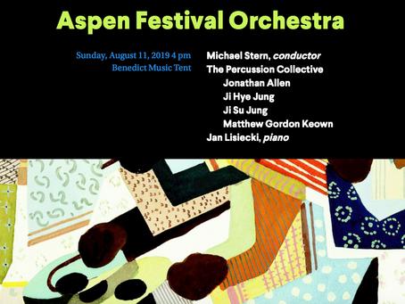 Aspen Music Festival and School 2019