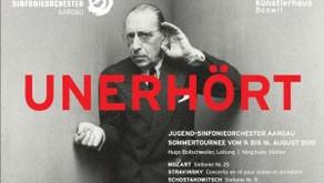 Konzerttournee Jugendsinfonieorchester Aargau