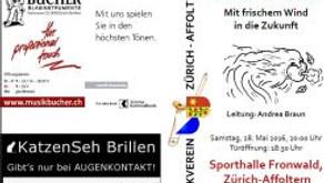 Konzert Musikverein Zürich Affoltern