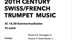 RAMA Festival 2018 – 20th Century Swiss/Frech Trumpet Music
