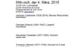 Podium Trompetenklassen Laurent Tinguely und Frits Damrow