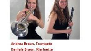 Konzert Andrea und Daniela Braun