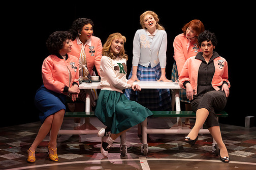 Patty Simcox in Grease at The Marriott Theatre