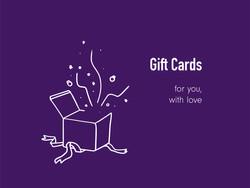 gift cards_violet