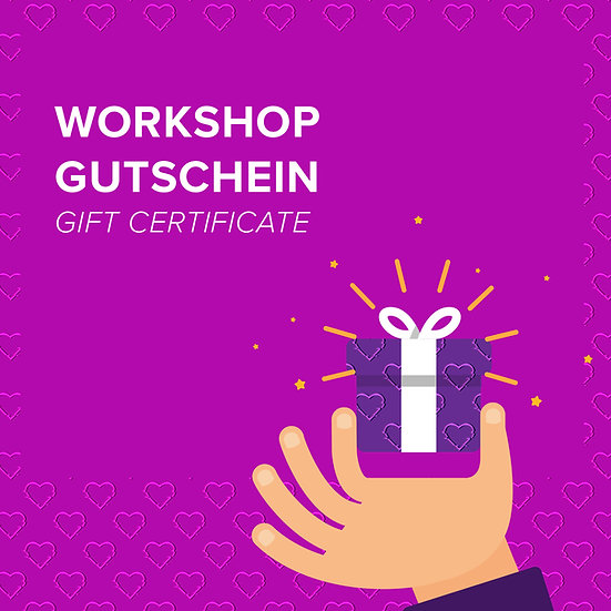 Workshop Gift Certificate (Tagesworkshop)
