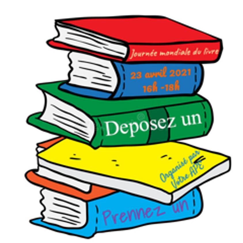 Journée mondiale du livre.