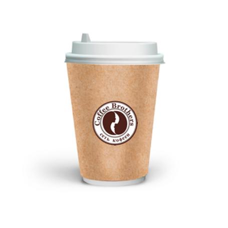 Ваш логотип на бумажном стакане