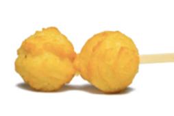 Картофельные крокеты с грибным соусом, 20гр