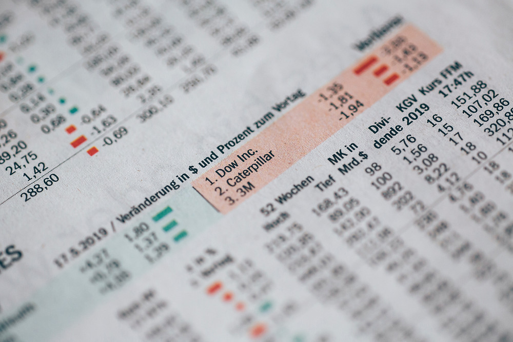 Balanço contábil utilizado para fazer um valuation.