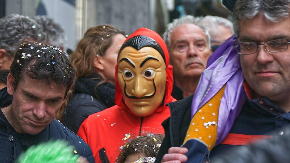 Máscara de La Casa de Papel
