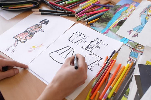 Pré Matrícula - Desenho de Figurino
