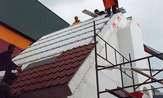 Arfa ICF İzokal Modüler Çatı Sistemi