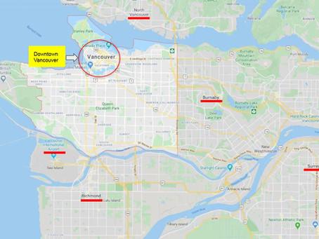 La pregunta más común, ¿Donde alojarse en Vancouver?