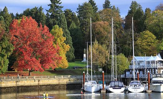 Stanley Park en otoño