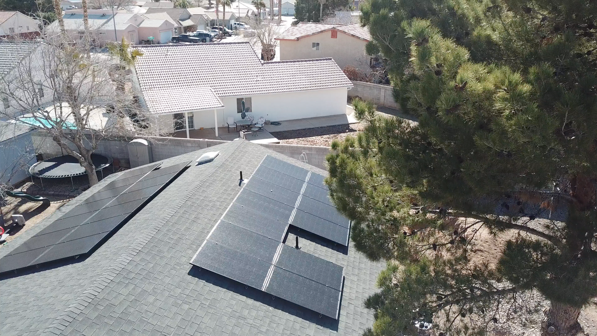 Solar Installation in Mesquite, NV by GST Nevada