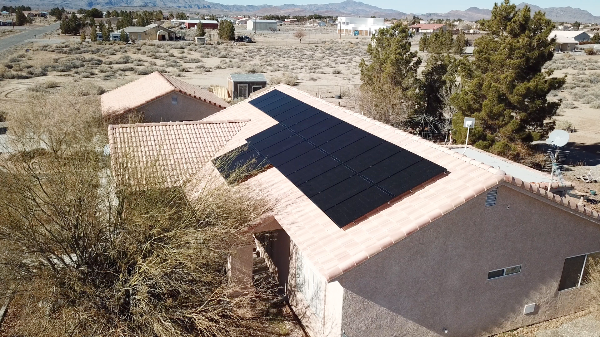Solar Installation in Pahrump, NV by GST Nevada