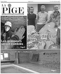 La Boîte à Grimpe, escalade Saguenay - Médias - La Pige