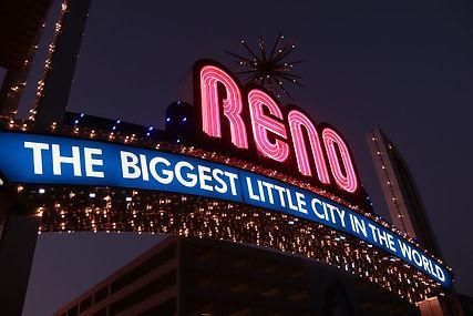 Reno Nevada lights