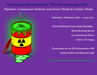 Radioactivity Speaker Event West Whitela