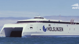 Austal Delivers Molslinjen Express 4