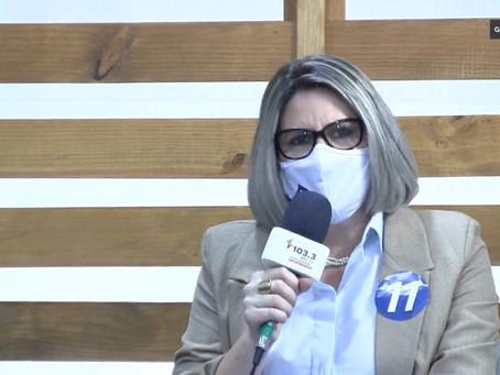 Patricia participa do primeiro debate da campanha eleitoral