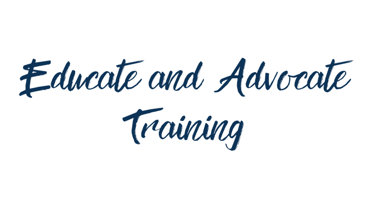 Educate and Advocate Training CPD for os