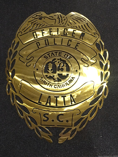 Latta Police Department Badge
