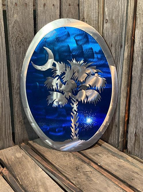 Palmetto Tree & Moon Double Layered