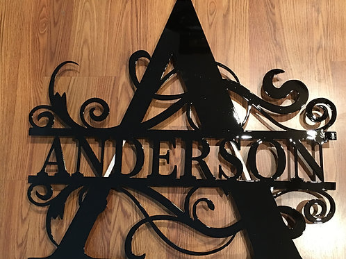 Monogrammed Letters With Name