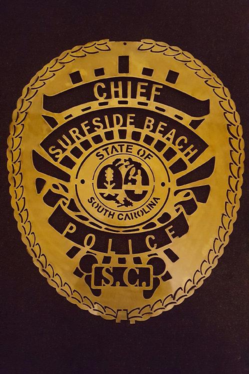 Surfside Beach Police Badge